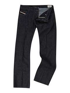 Homepage  Men  Jeans  Diesel Zatiny 88Z Dark Wash Bootcut Jeans