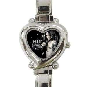 Him Ville Valo Heart Italian Charm Wrist Watch Ladies