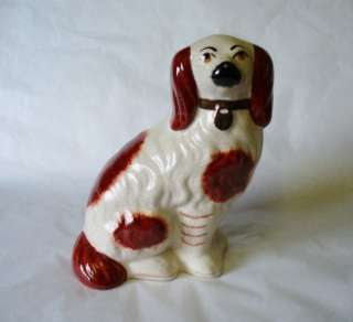 Vintage c 1944 + Staffordshire Mantle/Wally Dog   William Kent