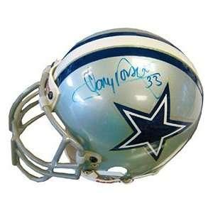 Tony Dorsett Autographed / Signed Dallas Cowboys Mini Helmet