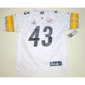 NFL Reebok Pittsburgh Steelers Troy Polamalu Super Bowl