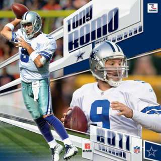 Tony Romo Dallas Cowboys 2011 Calendar: 12x12 Player Wall Calendar