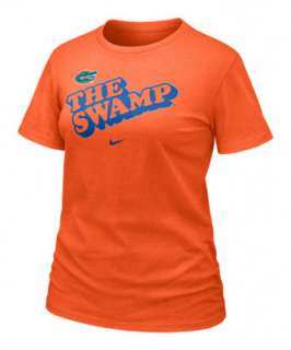 Florida Gators Womens Nike Orange Local Tee