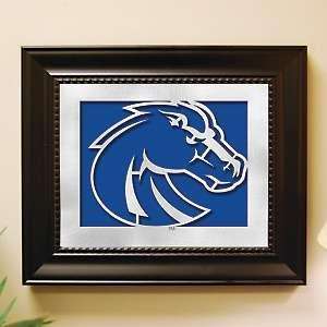 NCAA Laser Cut Logo Wall Art   Boise State