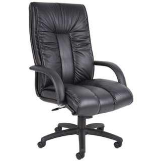 Boss High Back Leather Executive Chair (B9301)   Club
