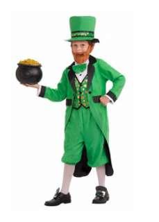 Boys Mr. Leprechaun  Cheap Humorous Halloween Costume for Boys