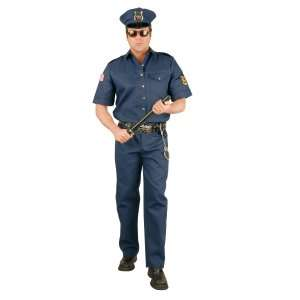 Police Officer Adult Costume, 31788