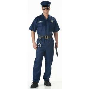 Police Officer Costume Adult, 10245