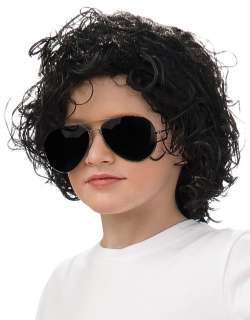Kids Michael Jackson Curly Wig   Michael Jackson Costume Accessories