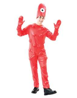 Adults Muno Halloween Costume  Wholesale TV Yo Gabba Gabba Costume
