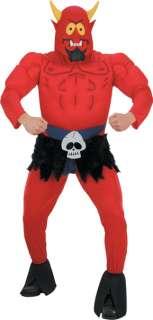 Adult Muscle Chest Satan Costume   South Park Costumes   15DG6388