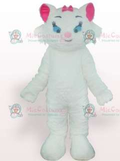 Beautiful Cat Short Plush Adult Mascot Costume