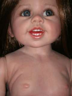 REBORN TODDLER DOLL ADORABLE M.LEVENIG MASTERPIECE DOLL Painted from