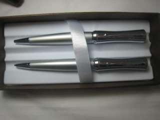 New Silver Cross Parasol Pen Pencil Executive Gift Set