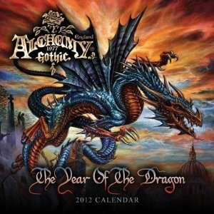 Gothic & Fantasy Calendars Alchemy   12 Month Official