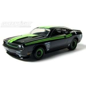 2009 Dodge Challenger R/T (Drag Car) 1/64 Black Toys