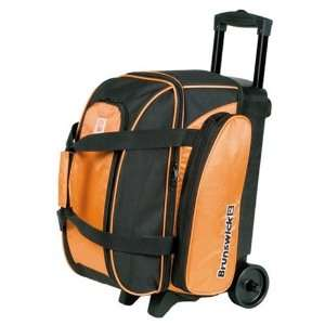 Brunswick Gear Orange Double Roller Bowling Bag