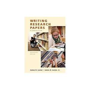 Writing Research Papers A Complete Guide (Hardcover, 2009
