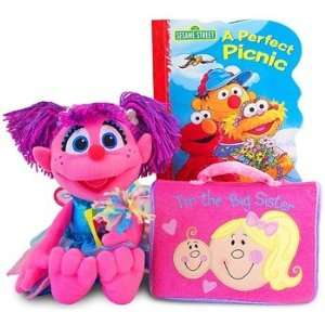 Sesame Street Abby Cadabby Im The Big Sister Gift Set: Toys & Games