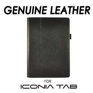 Leather Case w/Stand for Acer Iconia Tab A500