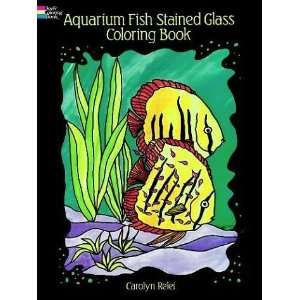 Aquarium Fish Stained Glass Coloring Book (Dover Nature Stained Glass