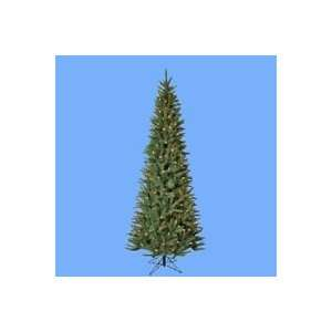 Moni Fir Slim Artificial Christmas Tree   Clear Lights