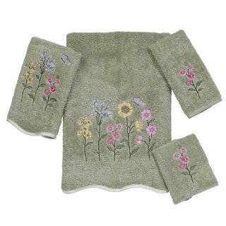 Avanti Premier Country Floral Bath Towel, Sage Home
