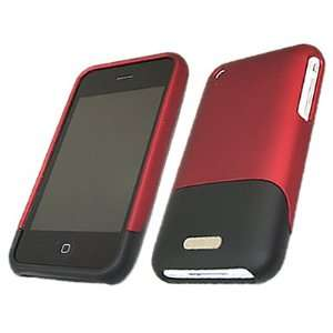 DUO RED & BLACK DUAL COLOUR Armour HYBRID Protection Clip On Case