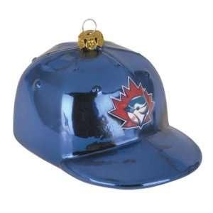 Toronto Blue Jays MLB Glass Baseball Cap Ornament (4