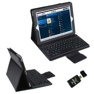 New Bluetooth Keyboard Leather Case Wireless For Apple iPad 3 New iPad