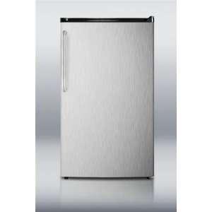 3.6 cu.ft. Refrigerator/Freezer w/ Auto Defrost, SS Door