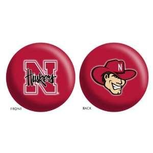 Nebraska Huskers NCAA Bowling Ball