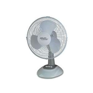 Atlantic Breeze  12 Oscillating Fan,3 Speeds,13 15/16x11 1/2x1 1/2