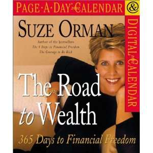Suze Orman The Road to Wealth Page A Day Calendar 2002 Suze Orman
