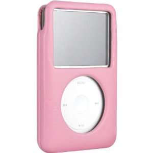 Peony Pink Italian Leather Case For iPod(tm) 160GB classic