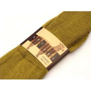 Alpaca Classic Socks Mens Light Camel L   Three Pack