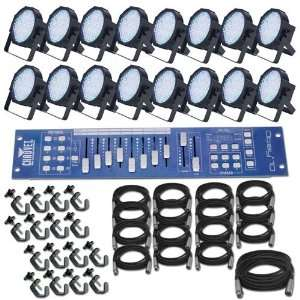 Mega Par Profile x 16 LED Lighting System Electronics