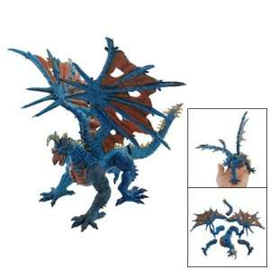 Dragon Monster Design DIY Puzzle Toy Orange Blue for Children Baby