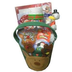 Reindeer Holiday/Christmas Gift Basket  Perfect for Christmas