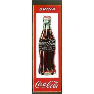 Vintage   Coca   Cola Bottle Canvas Home & Kitchen