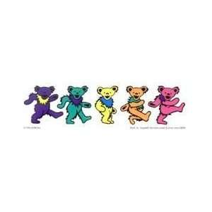 Grateful Dead   5 Dancing Bears   Sticker / Decal