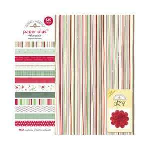 Doodlebug Design   Paper Plus Value Pack   Christmas