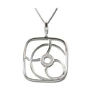 14K White Gold Diamond Necklace DivaDiamonds Jewelry