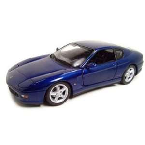 Ferrari 456M Blue Diecast Model 1:18 Hotwheels: Everything