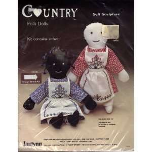 Country Folk Doll Soft Sculpture
