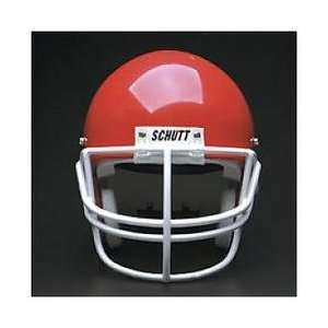 Carbon Steel Football Face Mask   SCARLET One Size