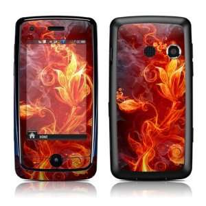 Flower Of Fire Design Protective Skin Decal Sticker Cover
