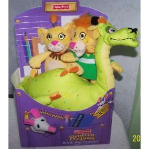 Fisher Price Between the Lions *Book Bag Friends Toys & Games