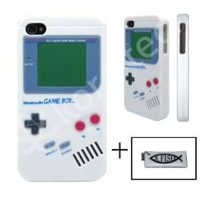 Nintendo Game Boy Gameboy Silicone Case White For iPhone 4