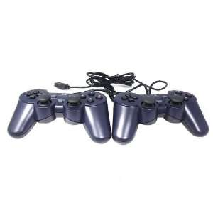 USB Dual Shock PC Controller Game pad Twin Joypad